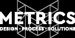 Metrics Logo White