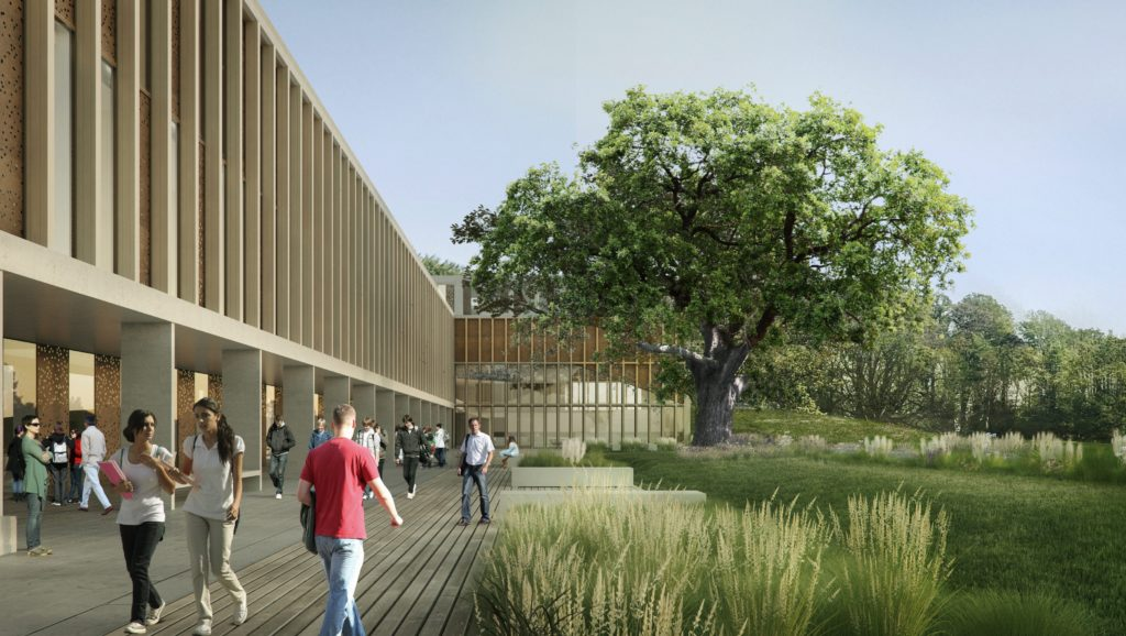 Lancaster University Health Innovation Center render